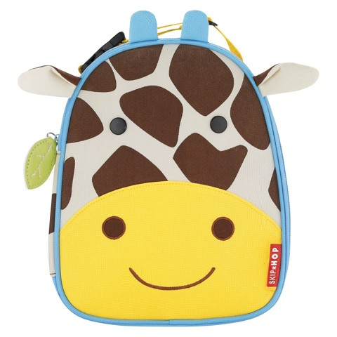 Skip Hop Zoo Little Kids & Toddler Insulated Lunch Bag, Giraffe