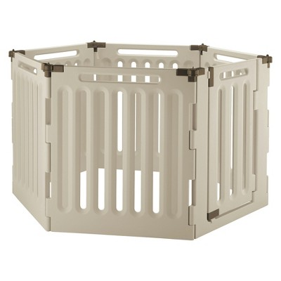 Convertible Indoor/Outdoor Pet Playpen - 6 Panel