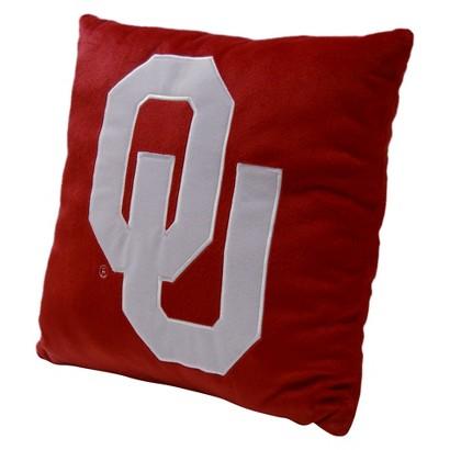 Oklahoma Sooners Pillow