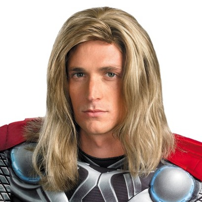 Adult The Avengers Thor Wig - One Size Fits Most