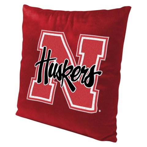 Nebraska Cornhuskers Pillow