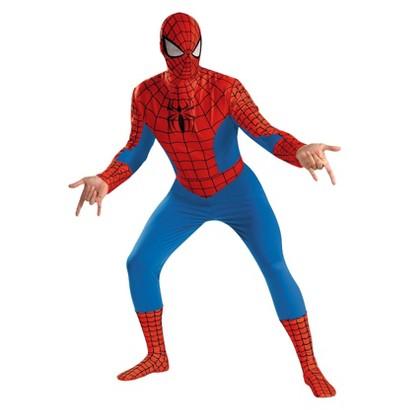 Men's Spider-Man Deluxe Plus Costume - XXL