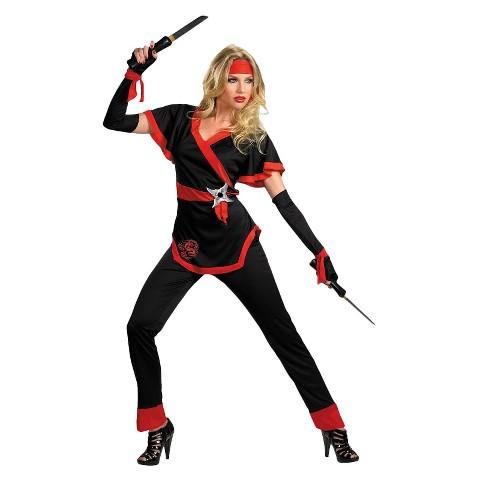 Women's Ninja Dragon Costume