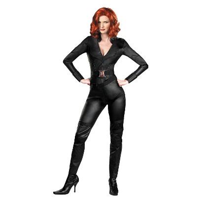Women's  Avengers Black Widow Deluxe Costume - XL