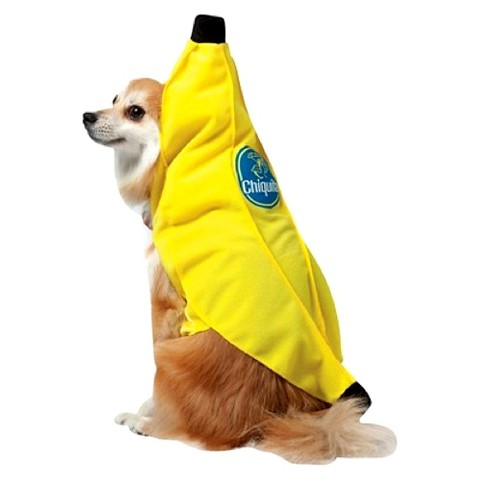 Banana Pet Costume