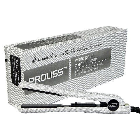 "Proliss Infusion 1.25"" Ceramic Flat Iron"