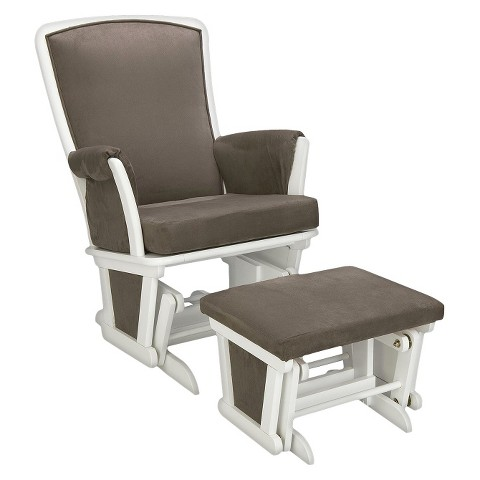Delta Haven Glider and Ottoman Set