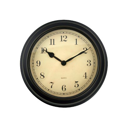 Threshold™ Wall Clock - Antique Black