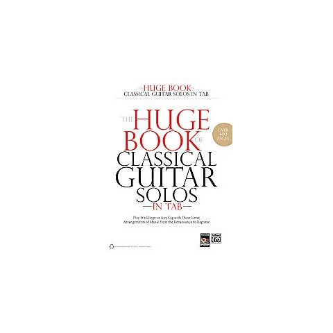 The Huge Book of Classical Guitar Solos in Tab (Paperback)