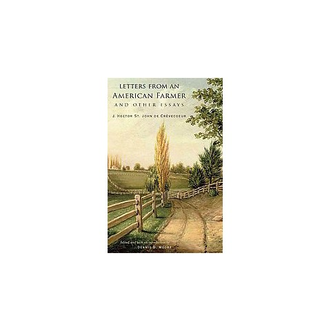 Letters from an American Farmer and Other Essays (Hardcover)