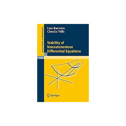Stability of Nonautonomous Differential Equations (Paperback)