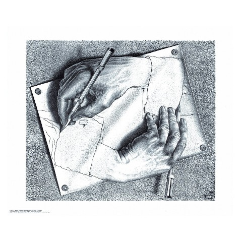 Art.com - Drawing Hands