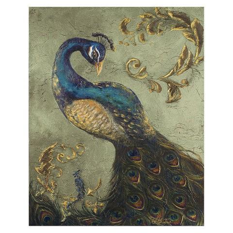 Art.com - Peacock on Sage II