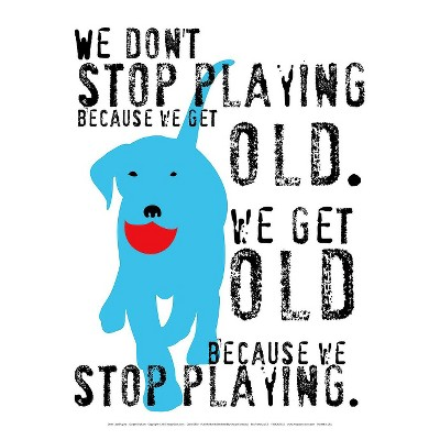 Art.com - Don't Stop Playing Art Print