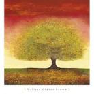 Art.com - Dreaming Tree Red