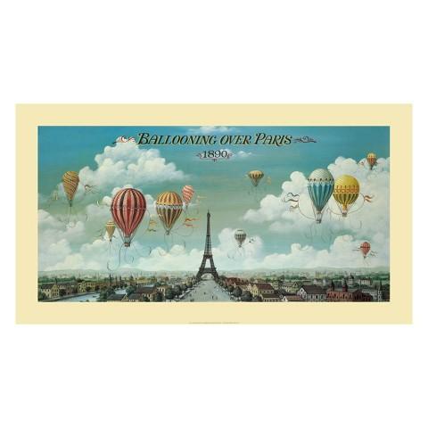 Art.com - Ballooning Over Paris