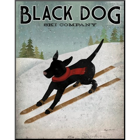 Art.com - Black Dog Ski