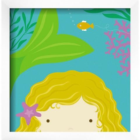 Art.com - Peek-a-Boo Mermaid