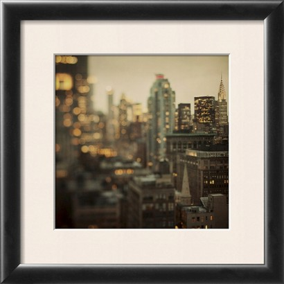 Art.com - City of Glass Framed Print