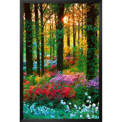 Art.com - Flower Forest Framed Poster