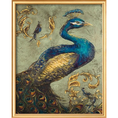 Art.com - Peacock on Sage