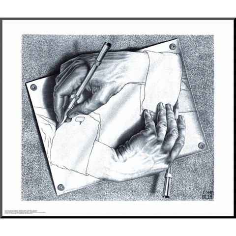 Art.com - Drawing Hands