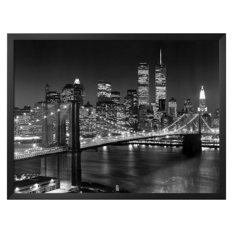 Art.com - Brooklyn Bridge Framed Print