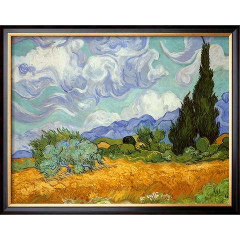 Art.com - Wheatfield and Cypress