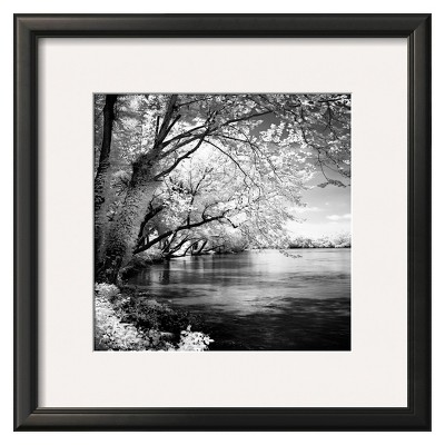 Art.com - Spring on the River Framed Print
