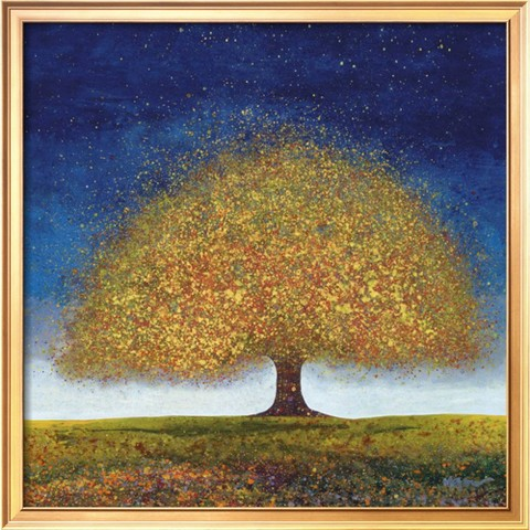 Art.com - Dreaming Tree Blue