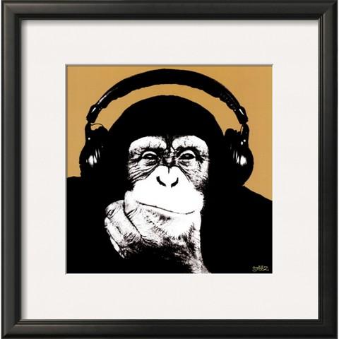 Art.com - Headphone Monkey