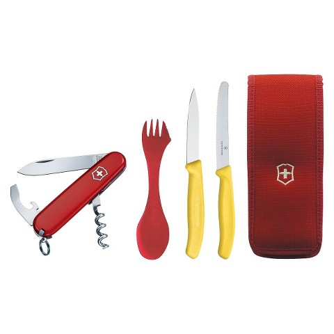 Victorinox Swiss Army 5 Piece Camping Set