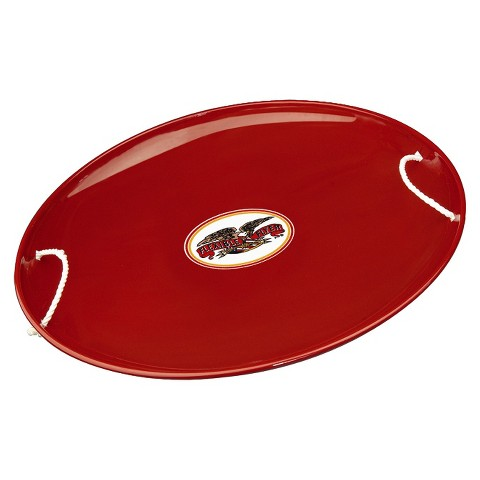 Flexible Flyer Steel Saucer - Red