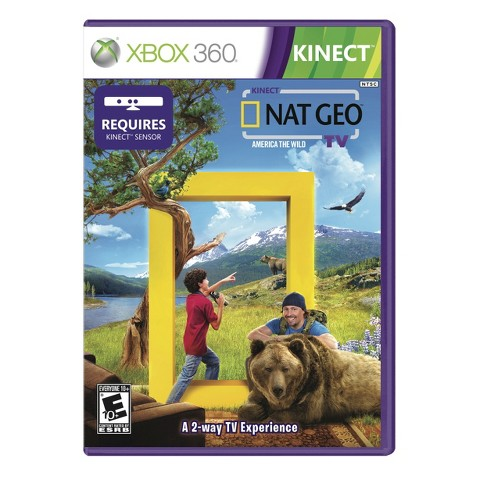 Kinect National Geographic TV (Xbox 360)