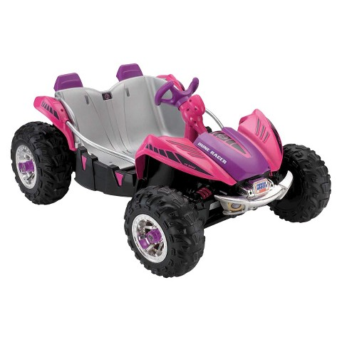 Fisher-Price Power Wheels Dune Racer – Pink / Purple