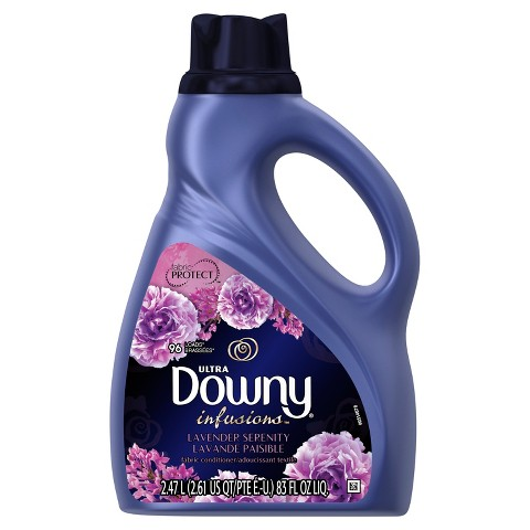 Downy Infusions Lavender Serenity Scent Liquid Fabric Softener 83 oz