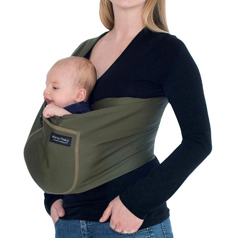 Karma Baby Organic Cotton Twill Sling Carrier - Green