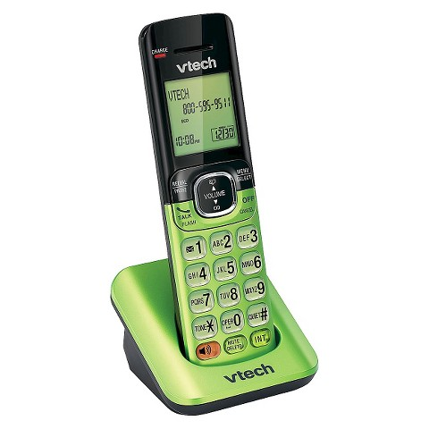 VTech CS6509-14 DECT 6.0 Accessory Handset for CS6519 & Other Models - Green
