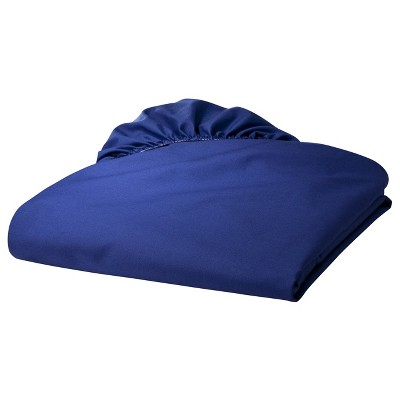 TL Care 100% Cotton Percale Fitted Crib Sheet - Royal