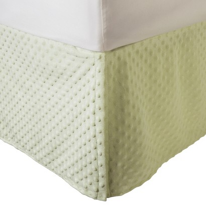 Heavenly Soft Chenille Crib Skirt