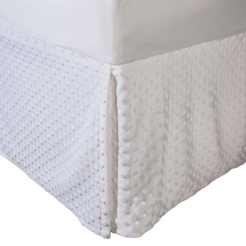 Heavenly Soft Chenille Crib Skirt