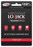 Absolute LoJack for Laptops Standard Card - $29.99
