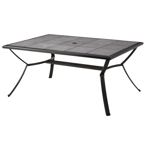 Harriet Rectangular Patio Dining Table Product Details Page