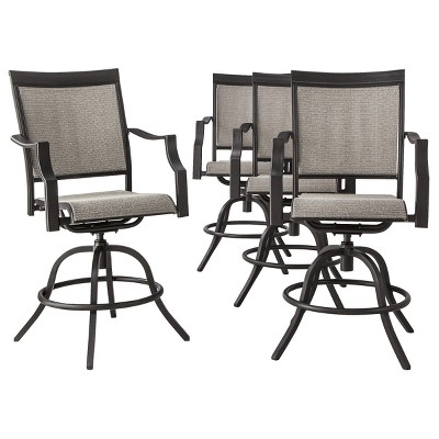 HARRIET 4PK BALCONY SWIVEL CHAIRS