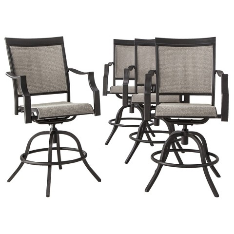 Threshold™ Harriet 4-Piece Sling Patio Balcony Height Chair Set