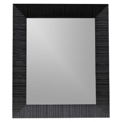 BLACK MIRROR 21.5X25.5 RIDGE