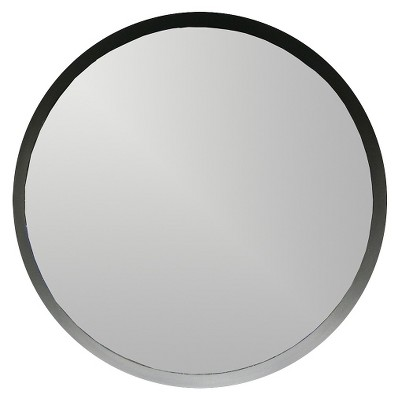 5 Piece Round Mirror - Black - Threshold™