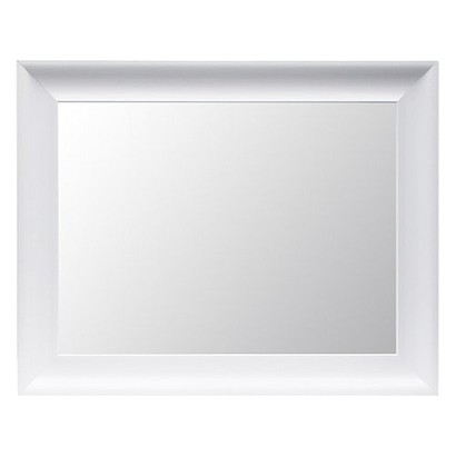 Threshold™ Flat Mirror - White