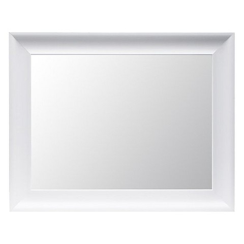 Threshold™ Flat Mirror - White