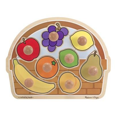 Melissa & Doug® Fruit Basket - Large Jumbo Knob